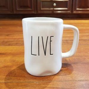 Rae Dunn Live Mug, New